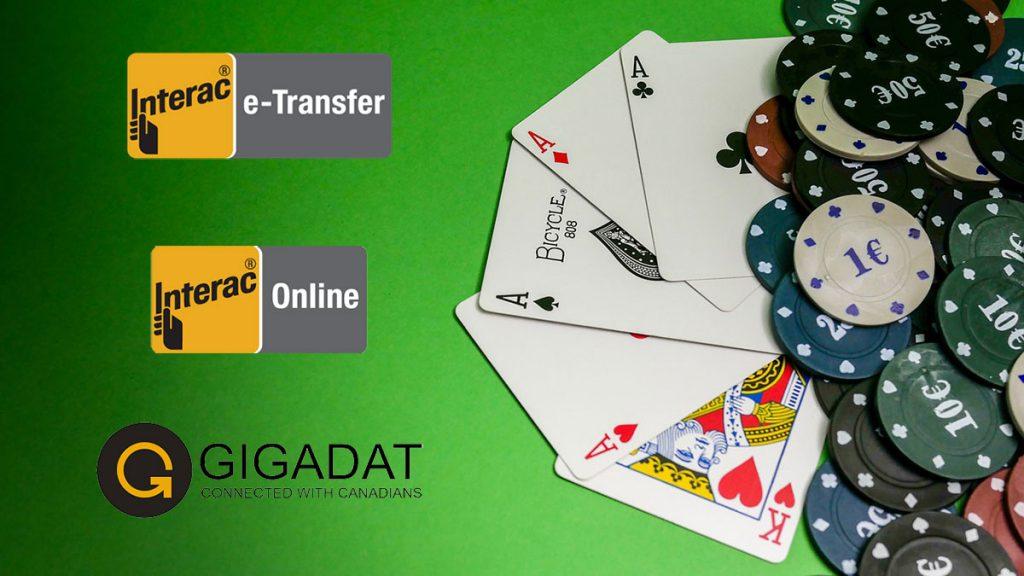 Interac e-Transfer Casinos